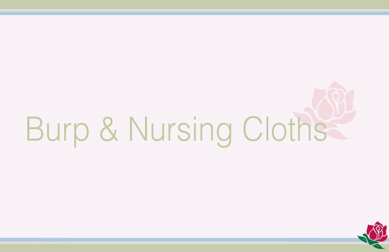 Burp/Nursing Cloths